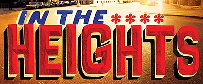 "A promotional poster for Moonlight's ""In the Heights."""