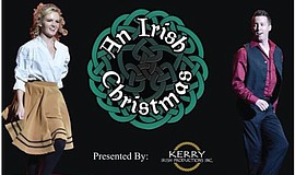 A promotional poster for An Irish Christmas, courtesy of Kerry Irish Producti...