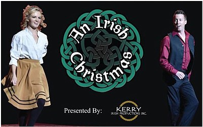 A promotional poster for An Irish Christmas, courtesy of ...