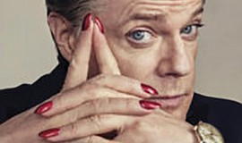 A promotional photo of Eddie Izzard, courtesy of San Diego Theatres.