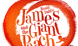 "A promotional graphic for ""James and the Giant Peach Jr."""