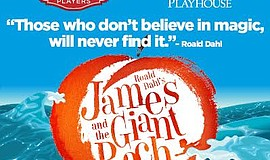"A promotional poster for ""James and the Giant Peach."""