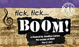 "A promotional photo for ""Tick, Tick ... Boom!"" courtesy of JCompany."