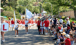 The Rancho Bernardo Spirit of the Fourth parade.