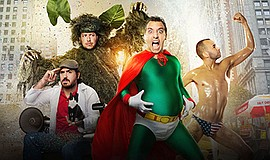Promotional photo for the show Impractical Jokers. Courtesy of TruTV.