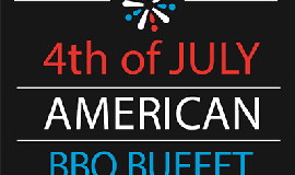 Promotional graphic for Fourth Of July at TWENTY/20.