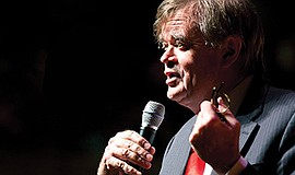 A photo of radio personality Garrison Keillor.