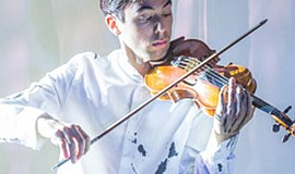 A promotional photo of violinist Keir GoGwilt, courtesy of the artist.
