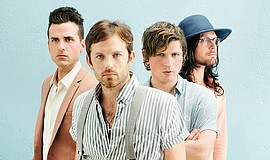 Promotional photo of Kings of Leon.