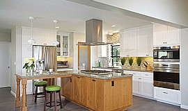 Promotional photo for the Kitchen and Bath Trends Seminar. Courtesy of Marrok...