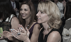 Promotional photo of participants at an Athena San Diego event.