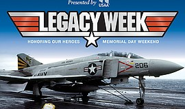 Promotional graphic for Legacy Week 2017. Courtesy of USS Midway Museum.