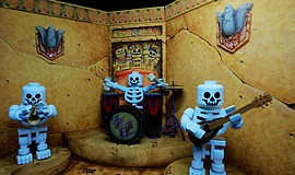 Promotional photo of Lost Kingdom Adventure courtesy of Legoland California R...