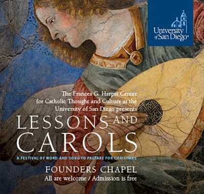 "Promotional photo for ""Lessons and Carols."" Courtesy of t..."