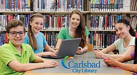 Promotional photo for children events at the library. Courtesy of the Carlsba...