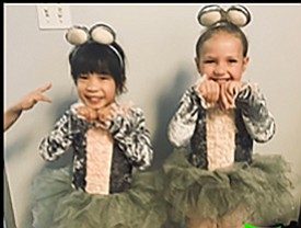 A photo of students from Lynch Dance Institute, courtesy ...