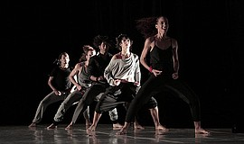 A photo of Malpaso Dance Company, courtesy of ArtPower.