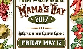 Promotional graphic for Mama's Day.