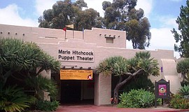 Photo of the Marie Hitchcock Puppet Theatre.