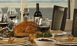 Promotional photo for the Thanksgiving Day Celebration. Courtesy of The Marin...