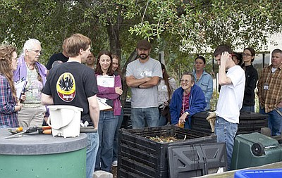 Photo from a previous Master Composter course.
