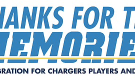 Promotional graphic for Thanks for the Memories – A Celebration for Chargers ...