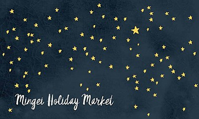 Promotional graphic for the Mingei Holiday Market. Courtesy of the Mingei International Museum.