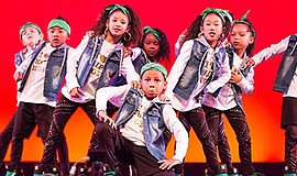 A photo of Mini Shock dance troupe by Marilen Avila Tran.