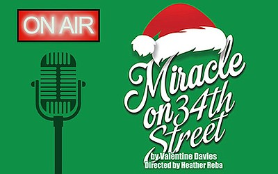 "A promotional poster for ""Miracle on 34th Street,"" courte..."