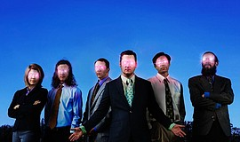 Promotional photo of Modest Mouse.