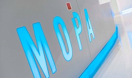 Photo of the entrance to MOPA. Photo credit: ©Ryan Gobuty/Gensler. Courtesy o...