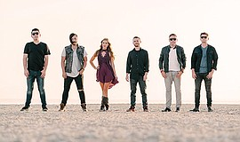 Promotional photo of the Morgan Leigh Band.
