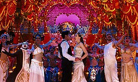 "A photo from the film ""Moulin Rouge!"""