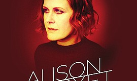 A promotional poster for Alison Moyet, courtesy of The Music Box.