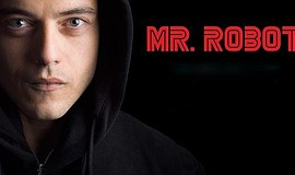 "Promotional graphic for the series, ""Mr. Robot."" by USA Network"