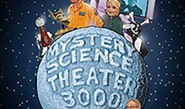A promotional poster for MST3K Live!