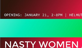 A poster for the Nasty Women Art Exhibition.