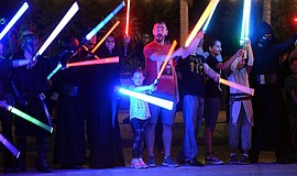 Promotional photo courtesy of Underground Lightsaber Fighters.