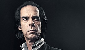 A promotional photo of musician Nick Cave.