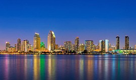 View of Downtown San Diego. Courtesy of Old Town Trolley Tours.