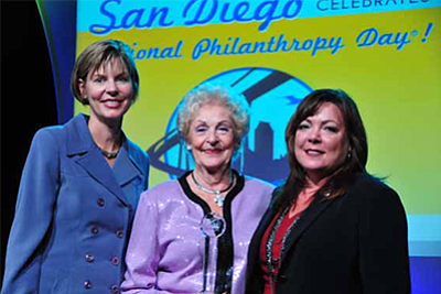 Promotional photo for the National Philanthropy Day celebration. Courtesy of the Association of Fundraising Professionals San Diego Chapter.