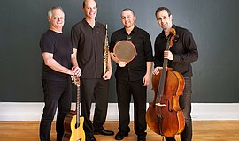Promotional photo of Quarteto Nuevo.