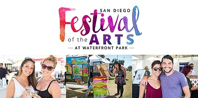 Promotional graphic and photos for the San Diego Festival...