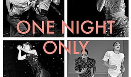 "A promotional poster for Monica Bill Barnes' ""One Night Only."""
