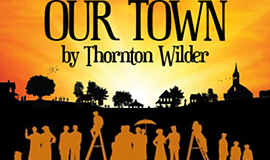 "Promotional graphic for ""Our Town."""