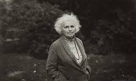 A photo of author Grace Paley.