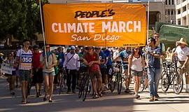Photo from a previous People's Climate March.