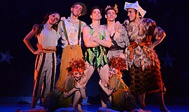 "A photo of Washington Ballet's cast of ""Peter Pan"" by Paul Wegner."