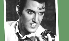 Promotional photo of Scot Bruce as Elvis.