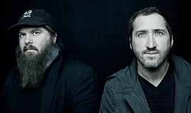 Photo of group, Pinback, courtesy of Belly Up.